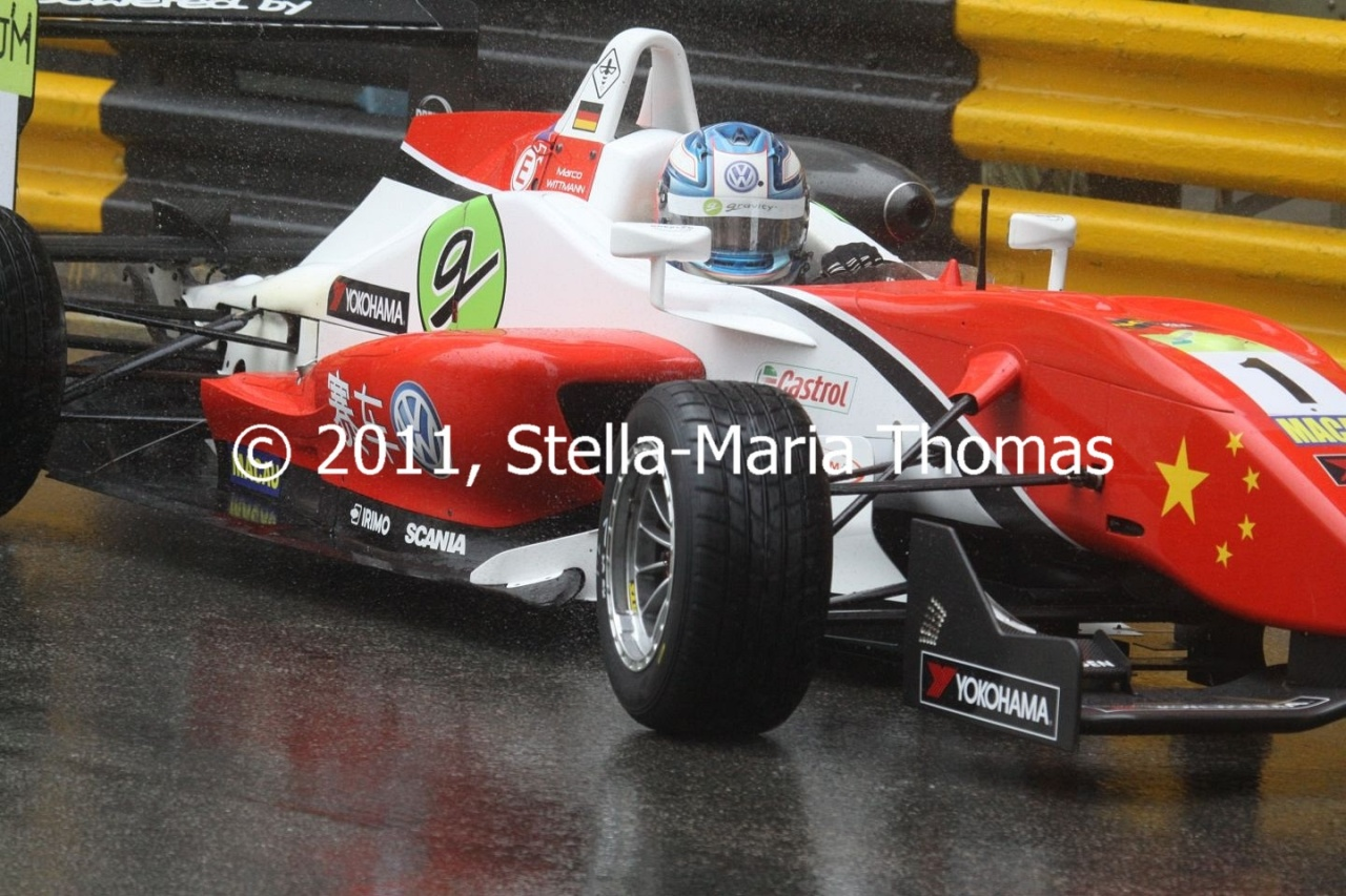2011 Macau Grand Prix – Qualifying RaceGrid