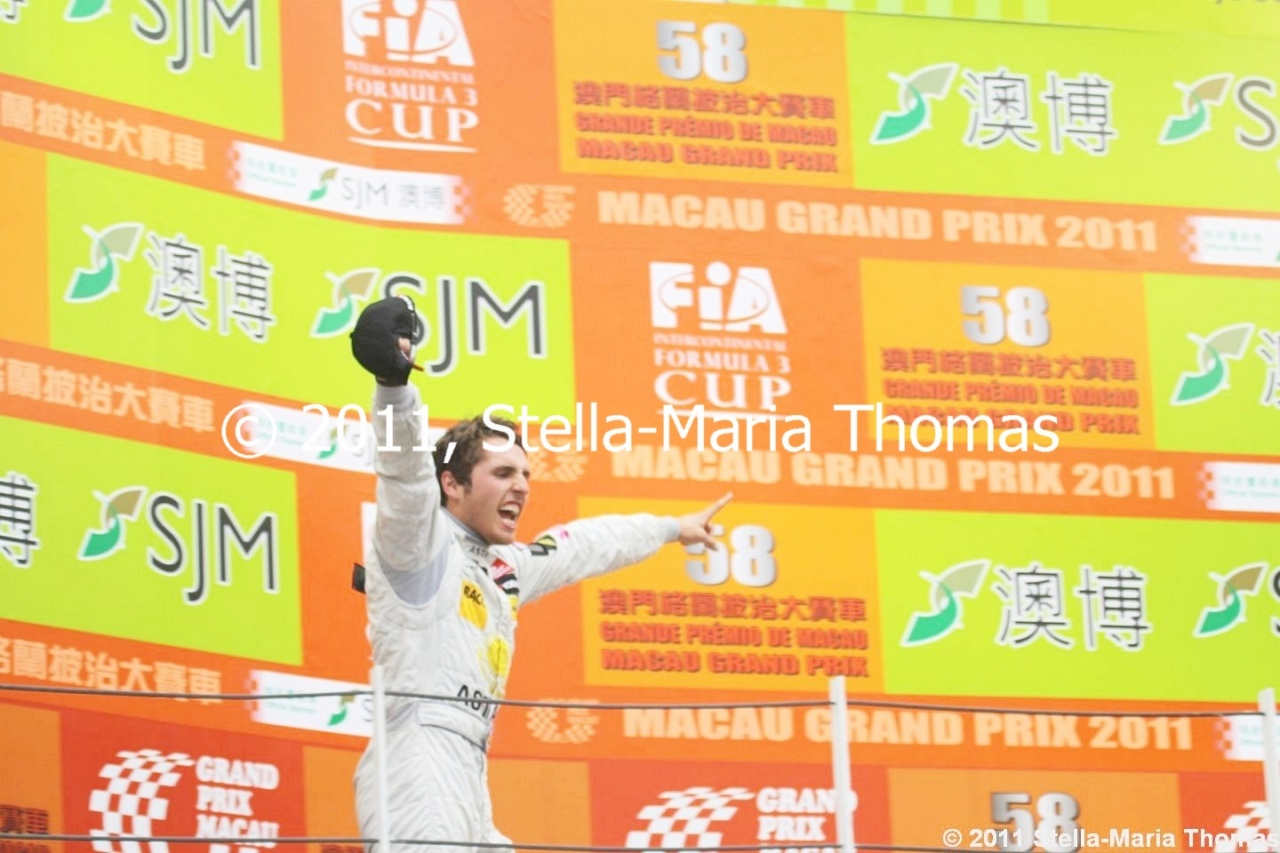 2011 Macau Grand Prix – Race Report
