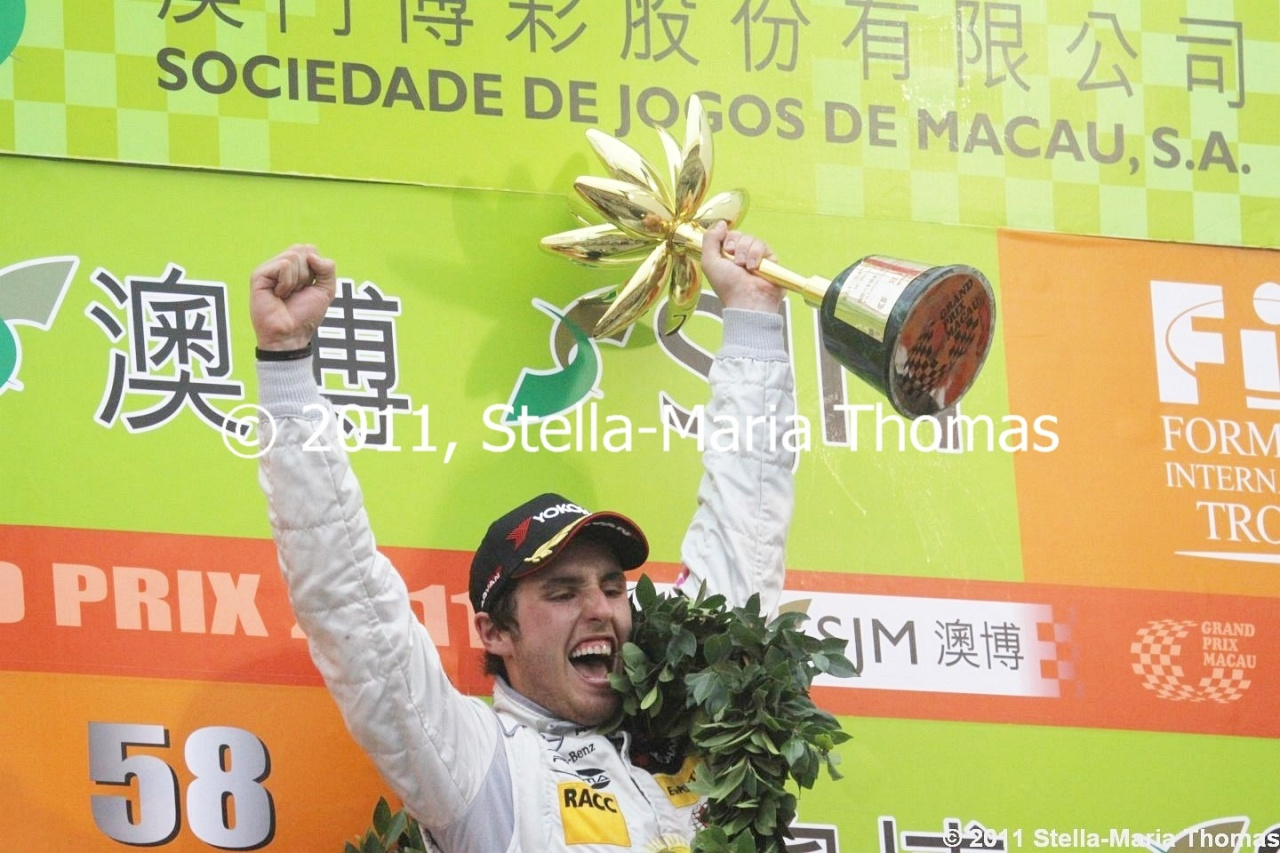 2011 Macau Grand Prix – Race Results