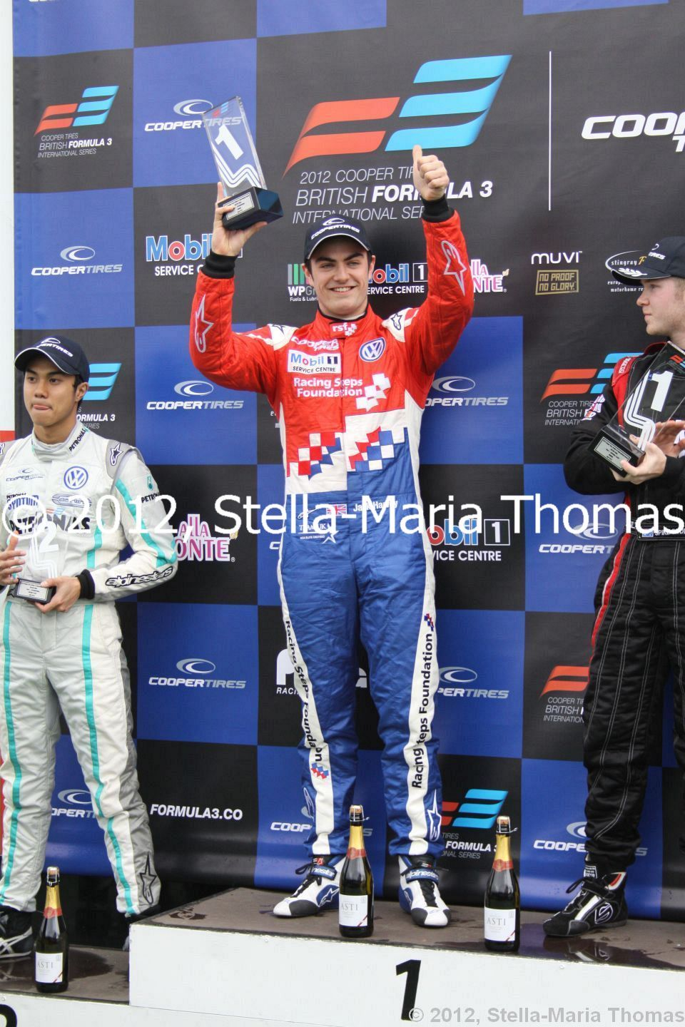 2012 Cooper Tires British F3 International Series  Round 1, Race Results