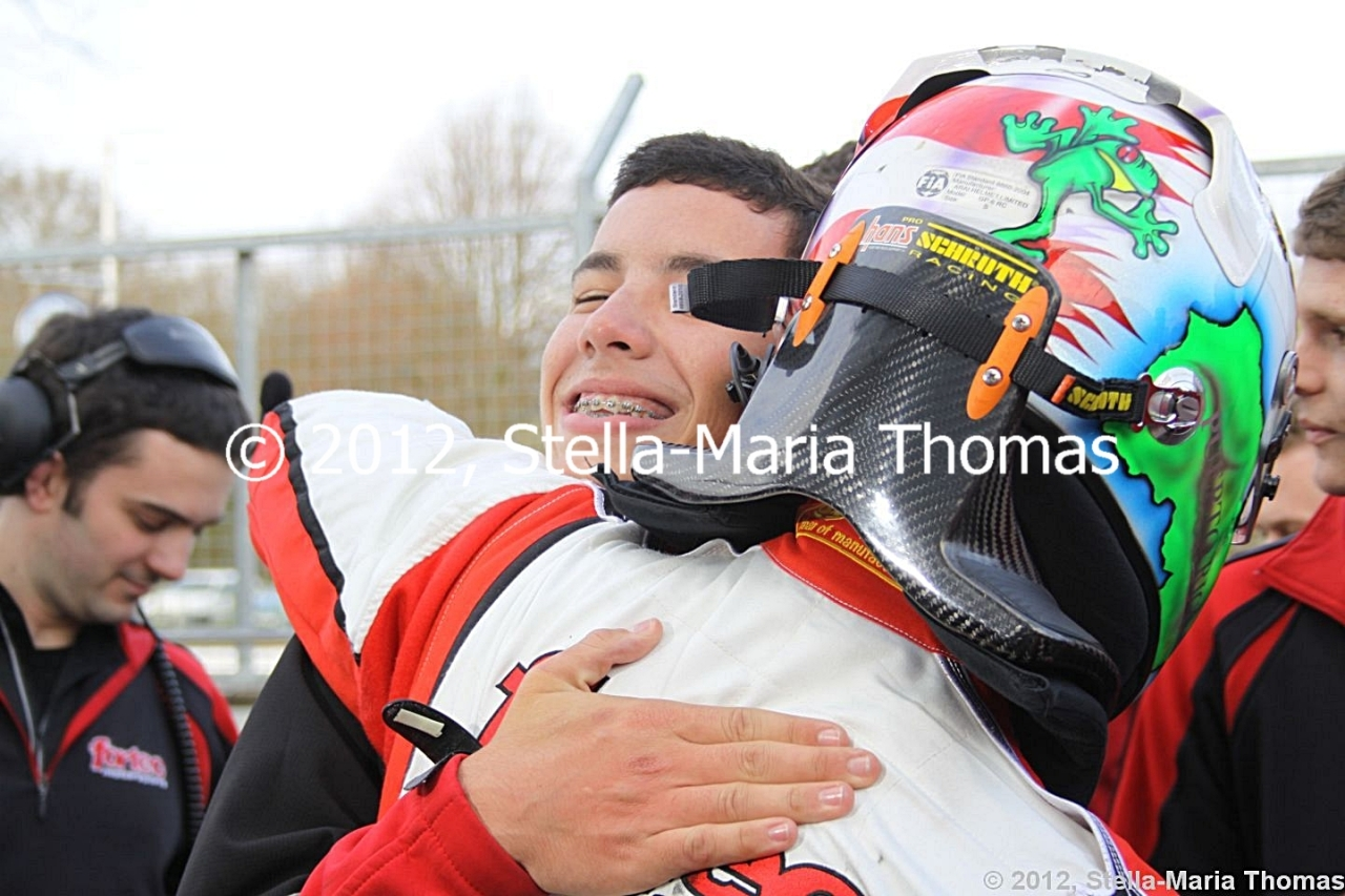 2012 Cooper Tires British F3 International Series  Round 3, Race Report
