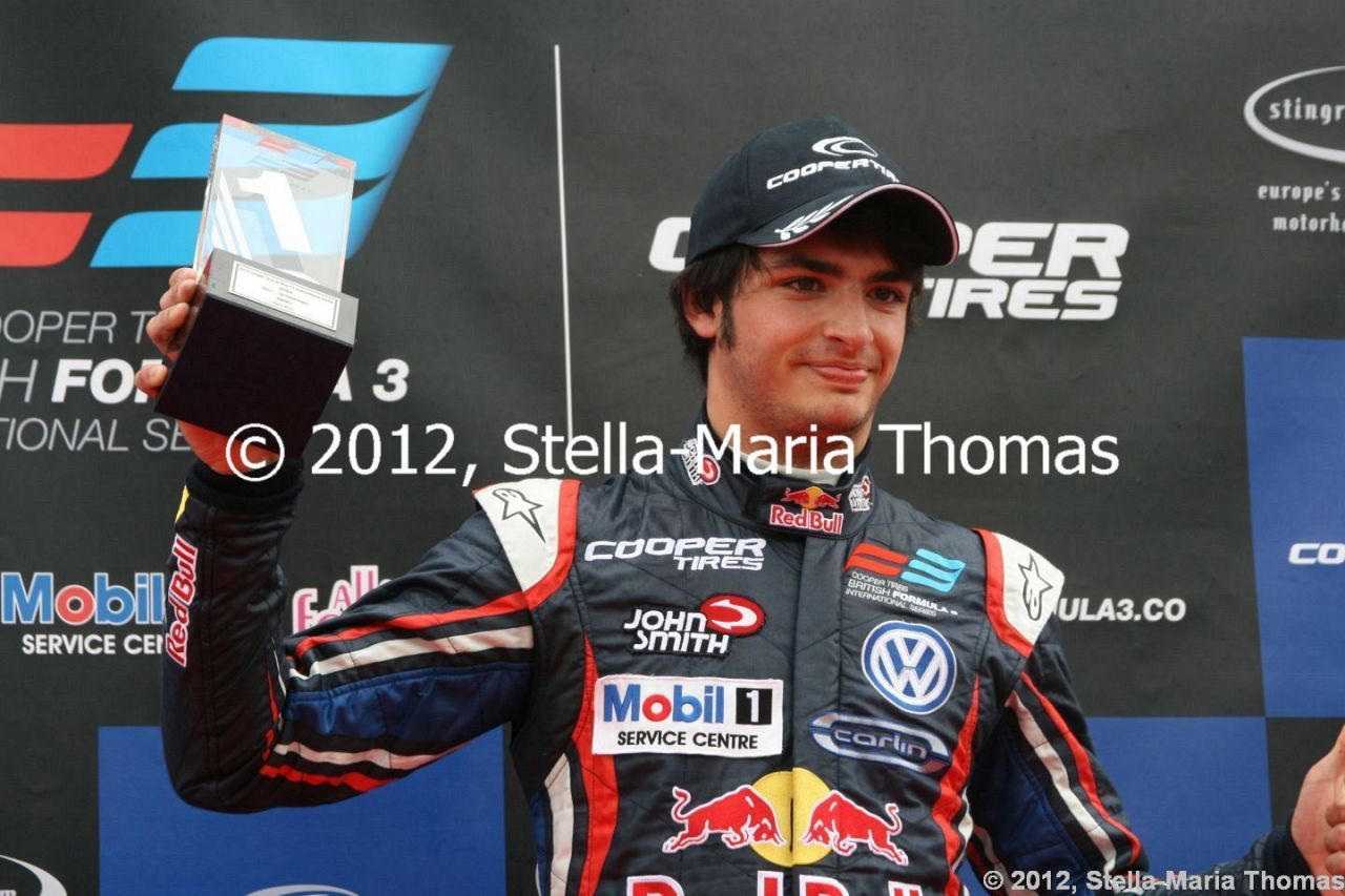 2012 Cooper Tires British F3 International Series  Round 4, Race Report
