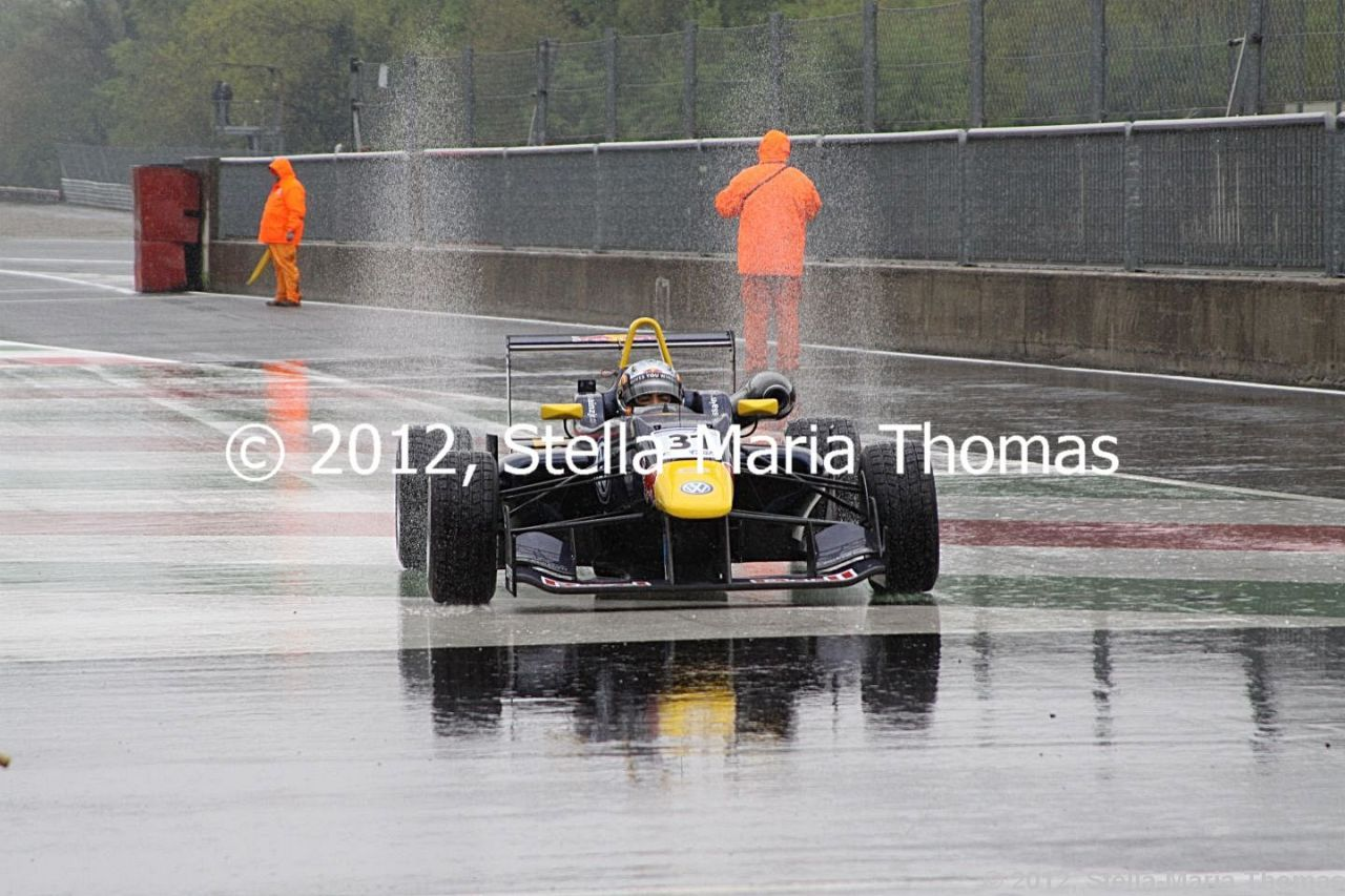 2012 Cooper Tires British F3 International Series  Round 6, Race Report