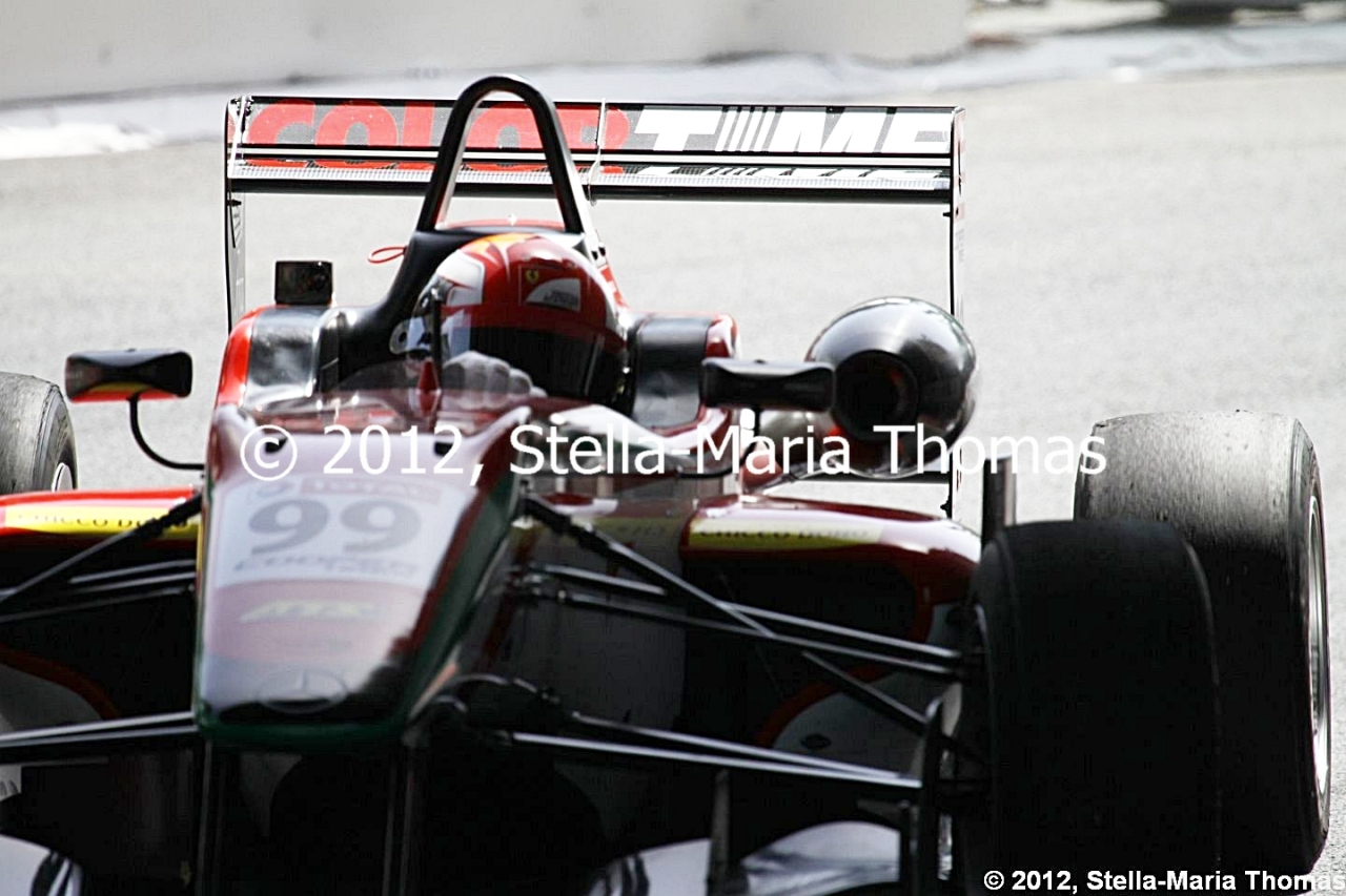 2012 British F3 International Series Round 8, Race Report
