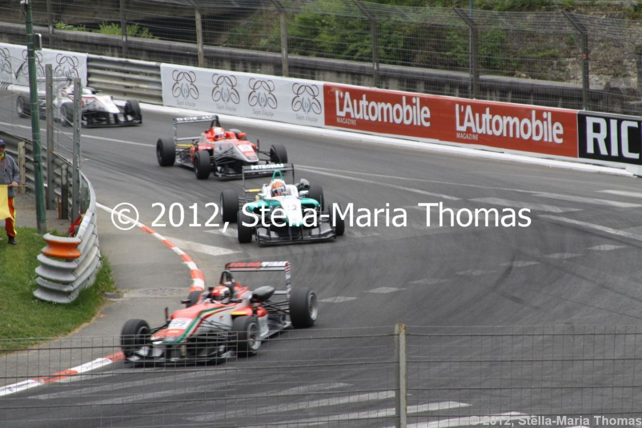 2012 British F3 International Series Round 7, Race Results