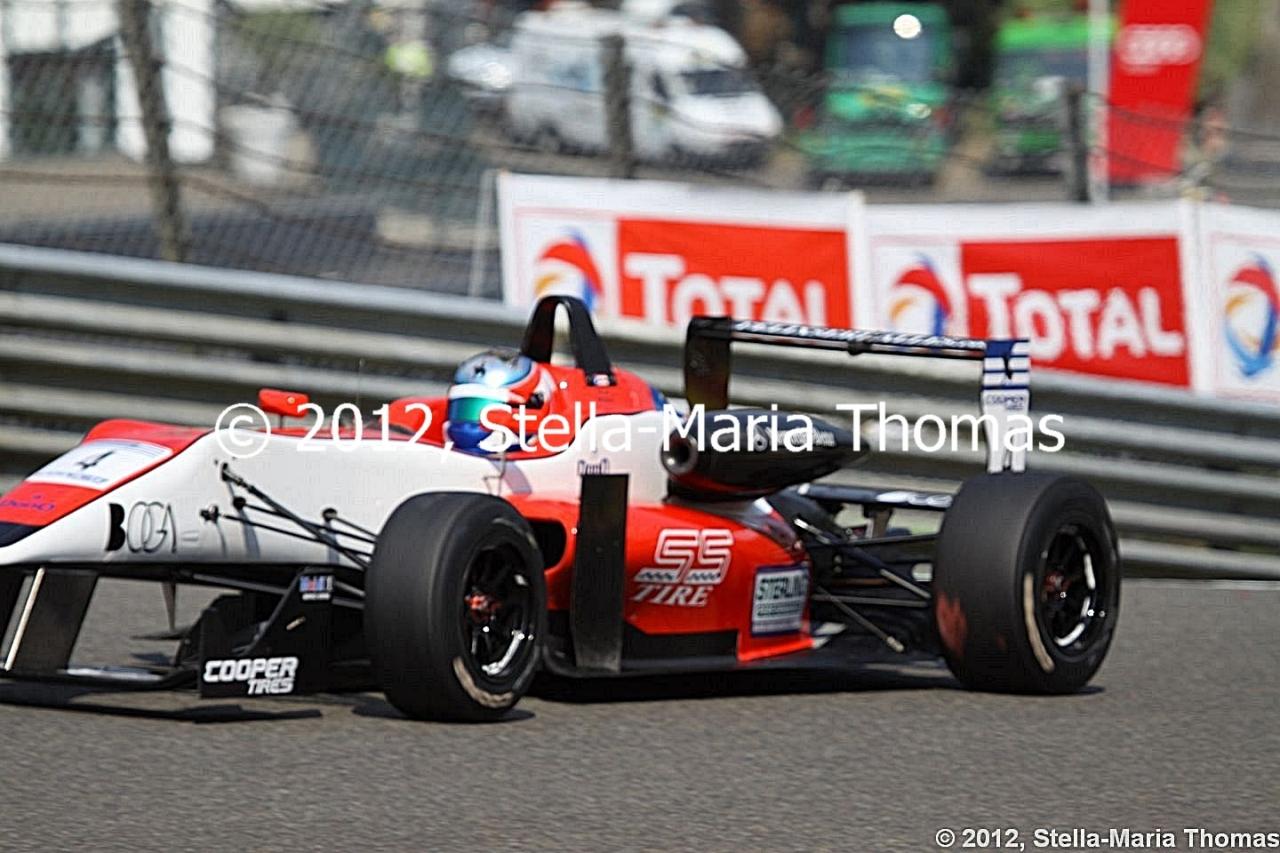 2012 British F3 International Series Round 18, RaceReport