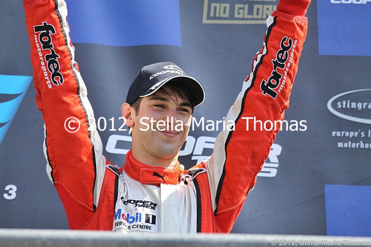 2012 British F3 International Series Round 18, RaceResults
