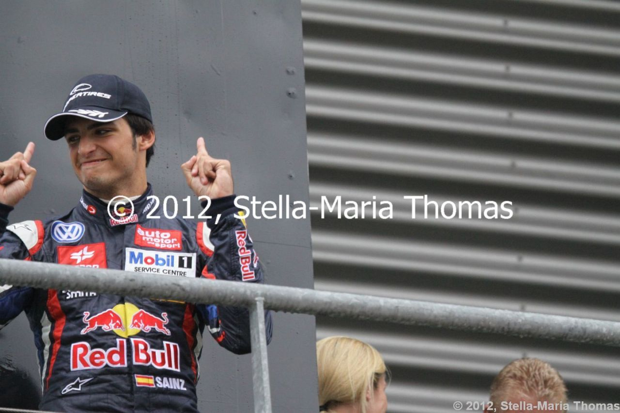 2012 British F3 International Series Round 20, RaceReport
