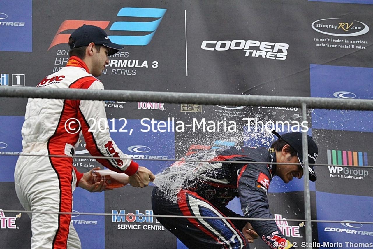 2012 British F3 International Series Round 20, RaceResults