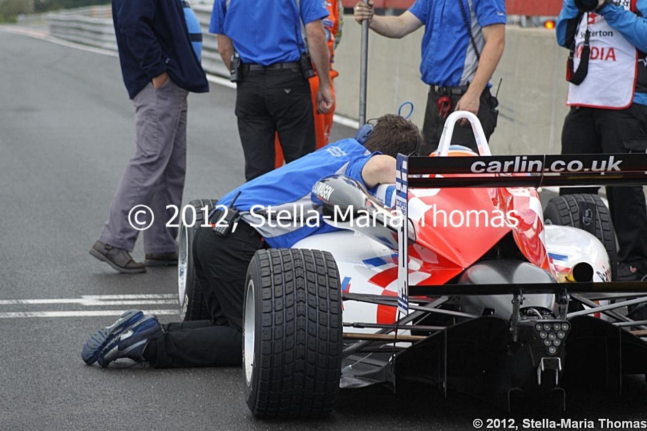 2012 British F3 International Series Round 23, QualifyingTimes