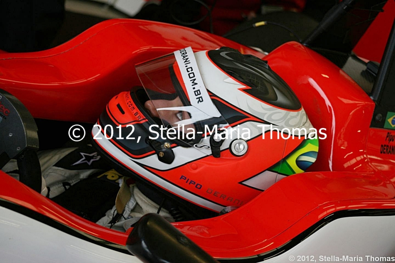 2012 British F3 International Series Round 25, Grid