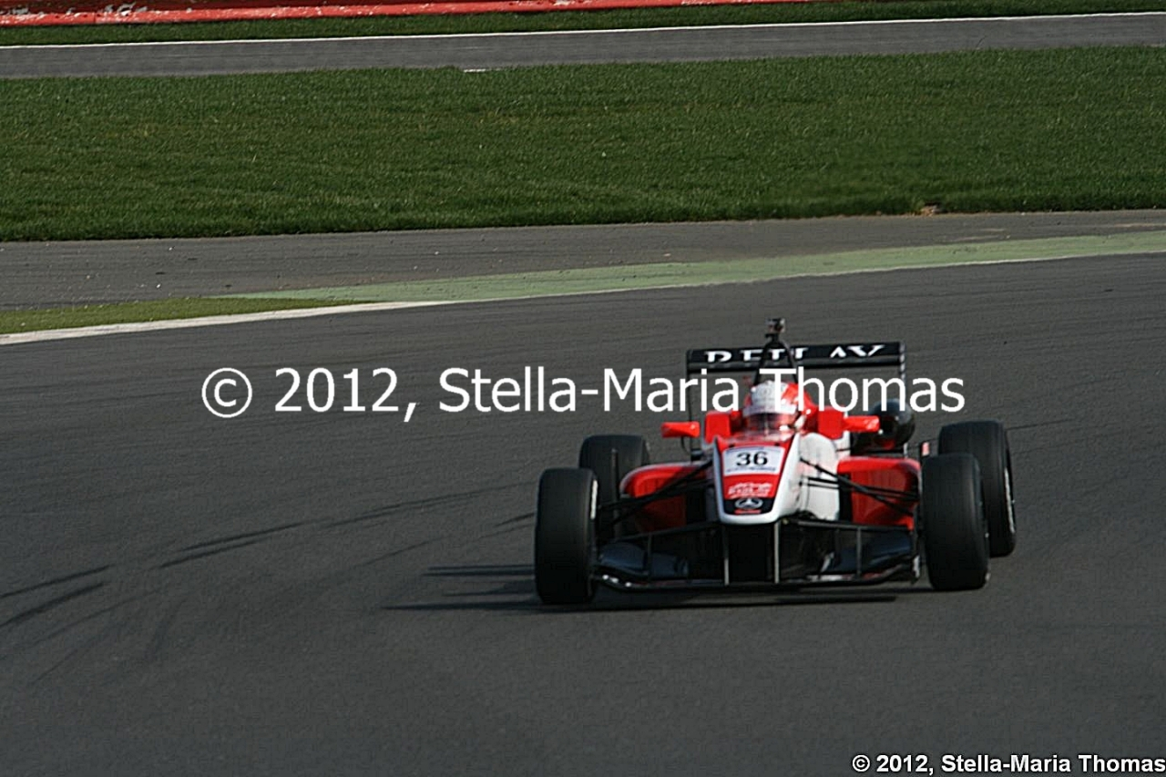 2012 British F3 International Series Rounds 24-26, Qualifying Report