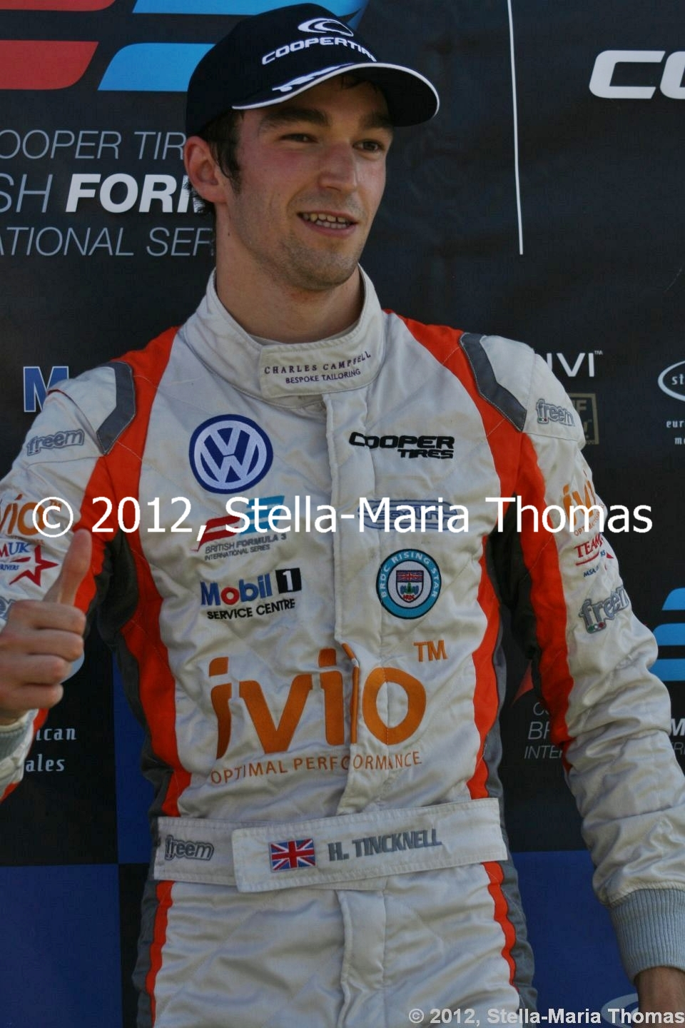 2012 British F3 International Series Round 28, Race Report