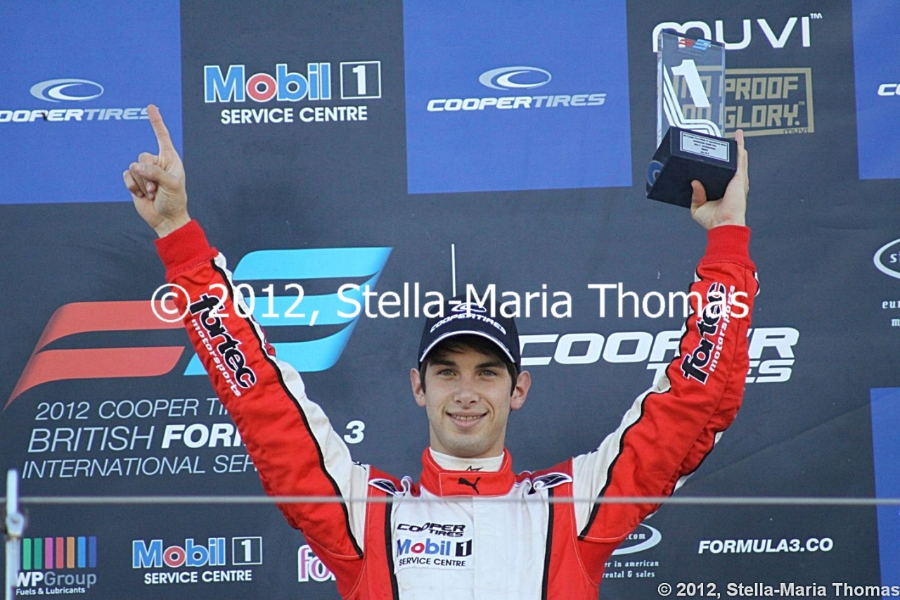 2012 British F3 International Series Round 25, Race Report