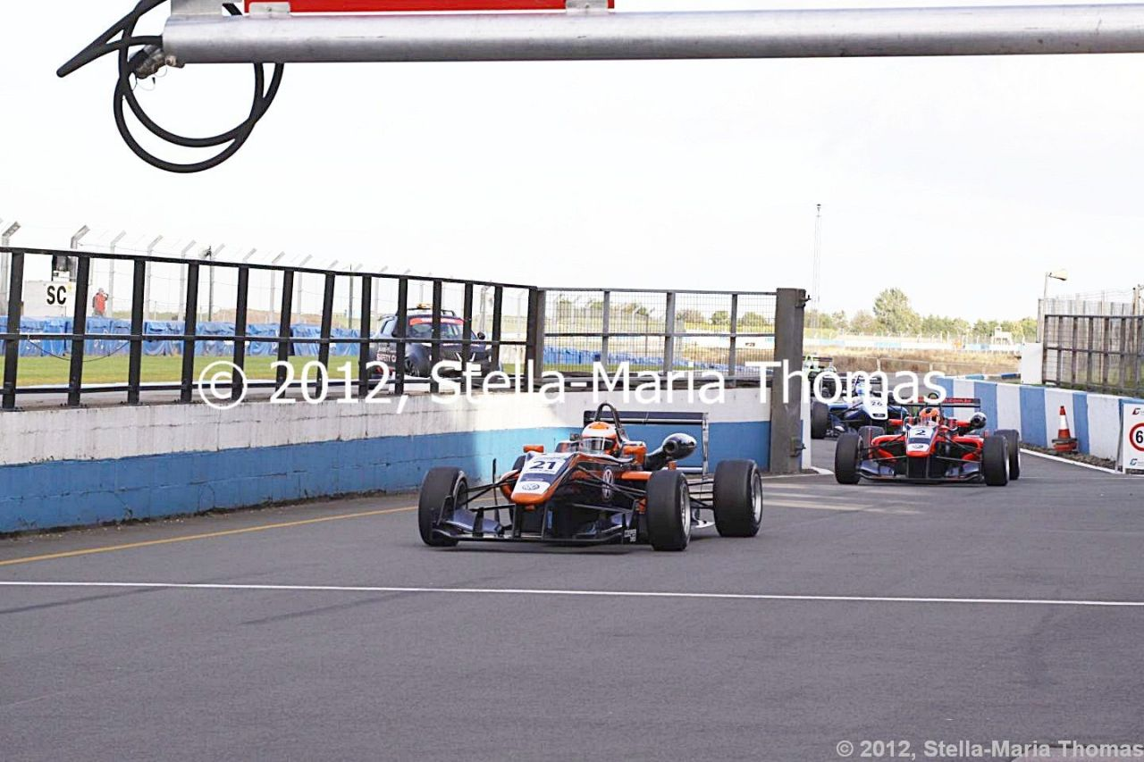 2012 British F3 International Series Round 28, Grid