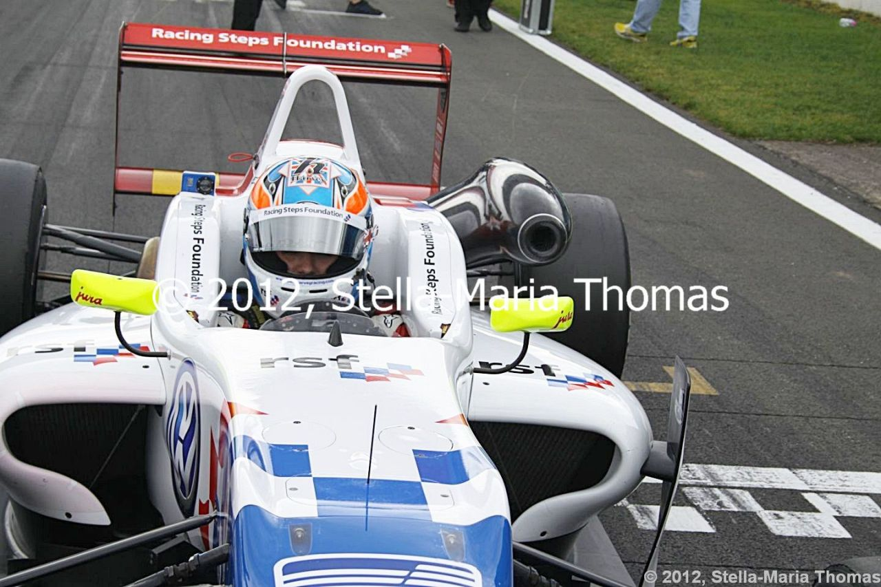 2012 British F3 International Series Round 27, Qualifying Times