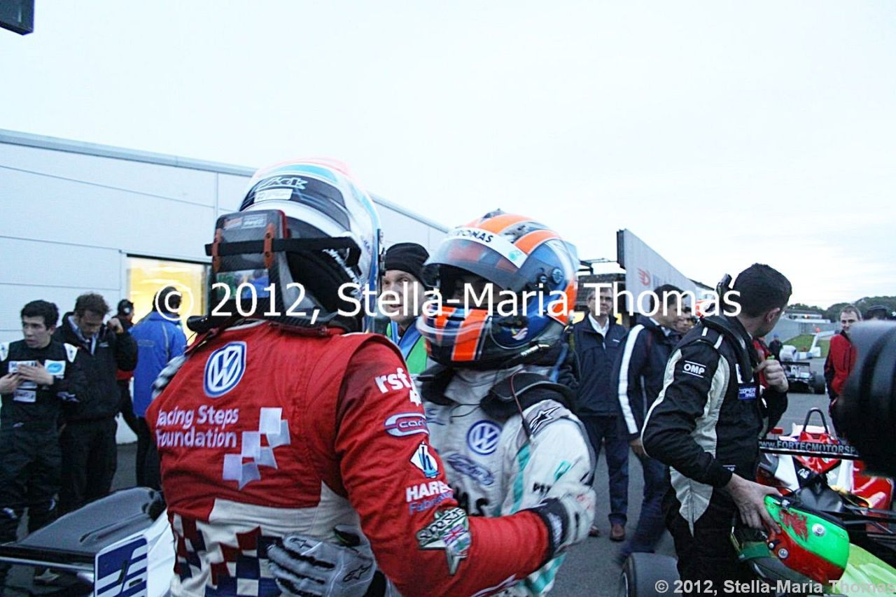 2012 British F3 International Series Round 29, Race Results