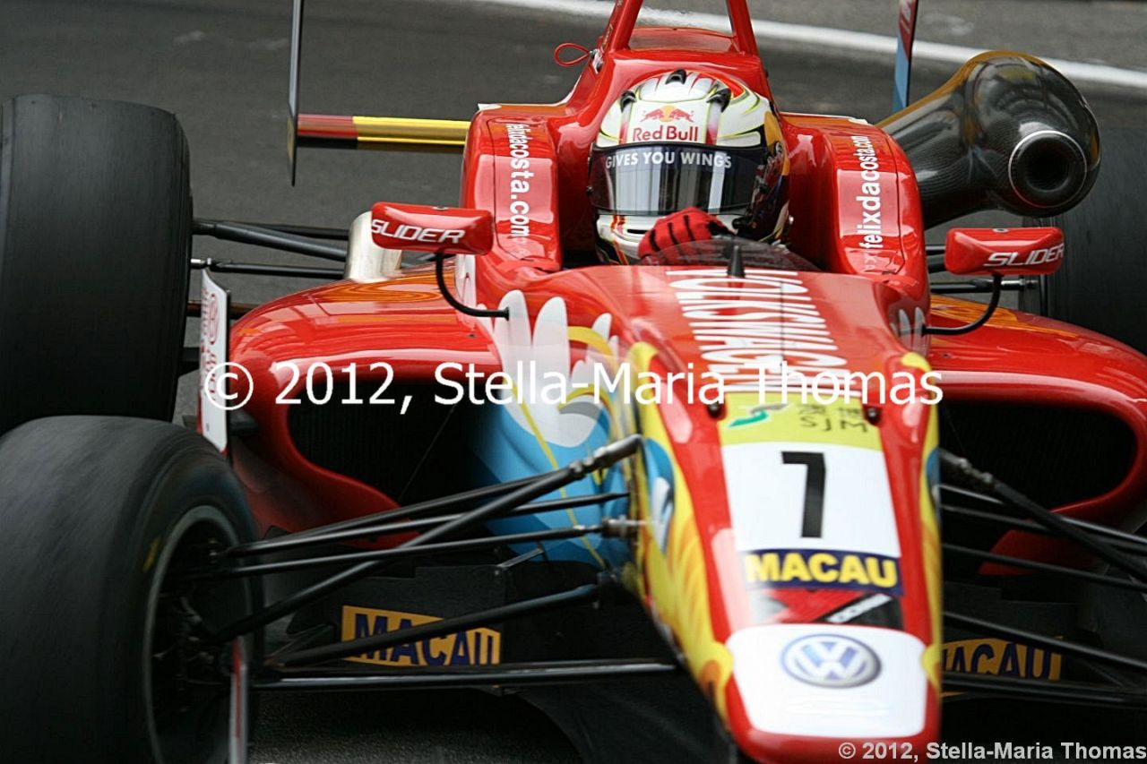 2012 SJM Formula 3 59th Macau Grand Prix –  First Qualifying Results