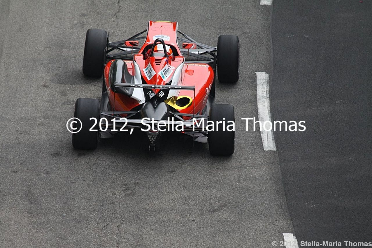 2012 59th SJM Formula 3 Macau Grand Prix Macau – Qualifying 2 Report