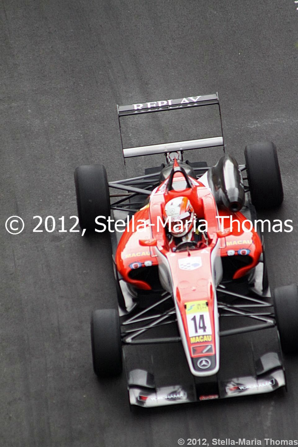 2012 59th SJM Formula 3 Macau Grand Prix – Combined Qualifying Times