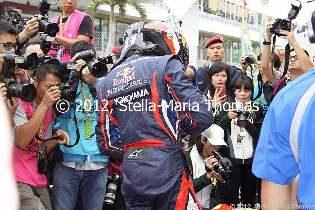 2012 SJM Formula 3 59th Macau Grand Prix – Grid