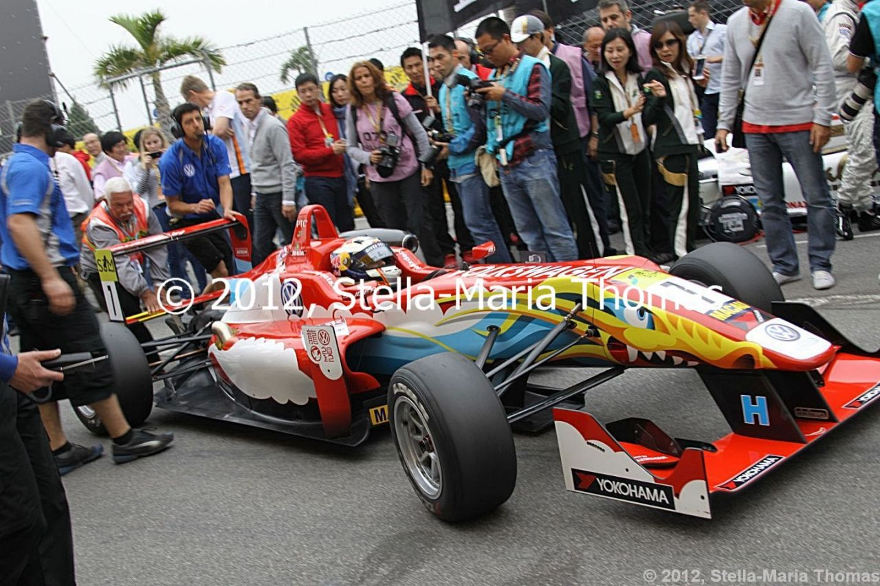 2012 SJM Formula 3 59th Macau Grand Prix –  Qualifying Race Results