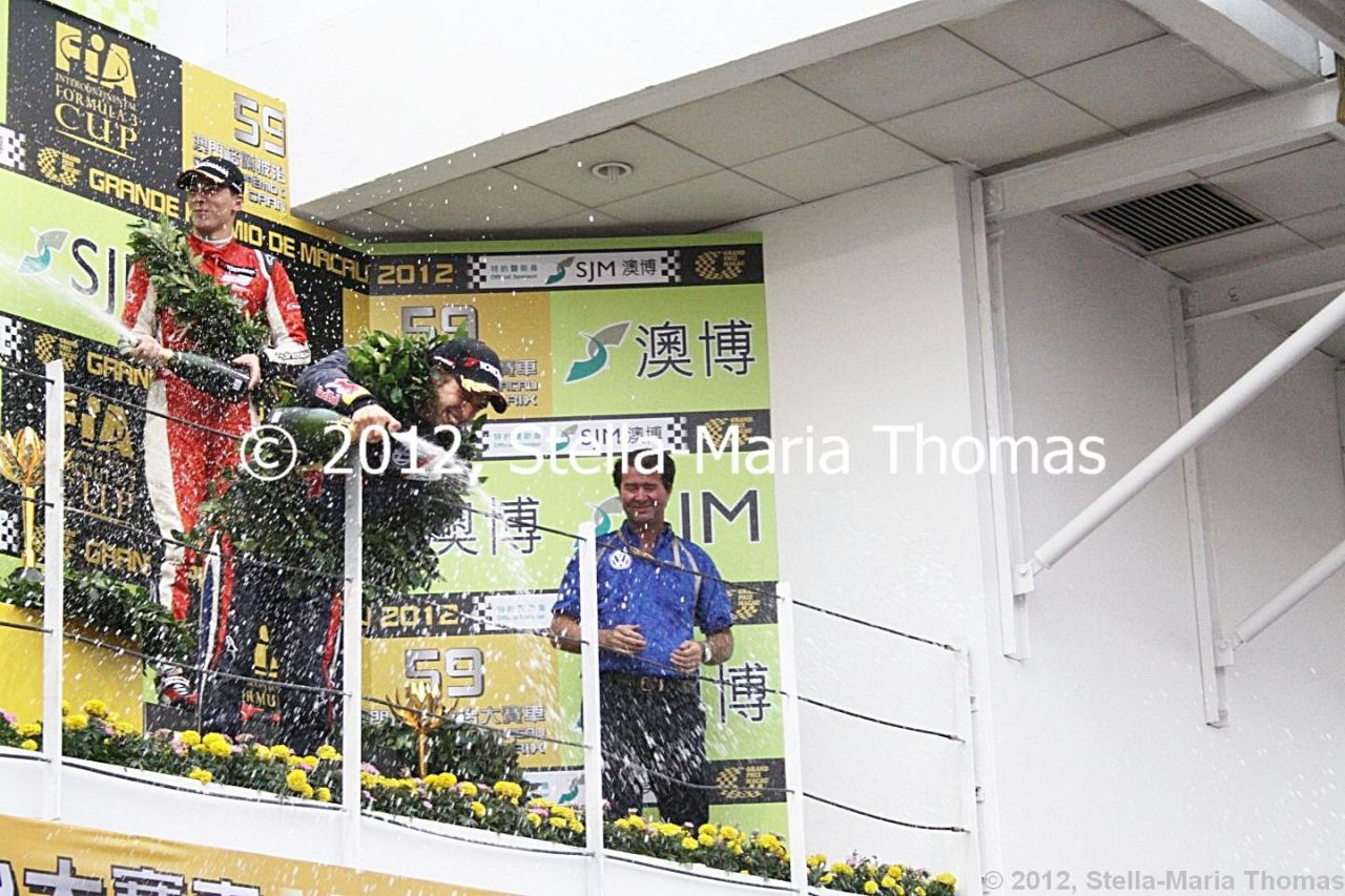 2012 SJM Formula 3 59th Macau Grand Prix – Race Report