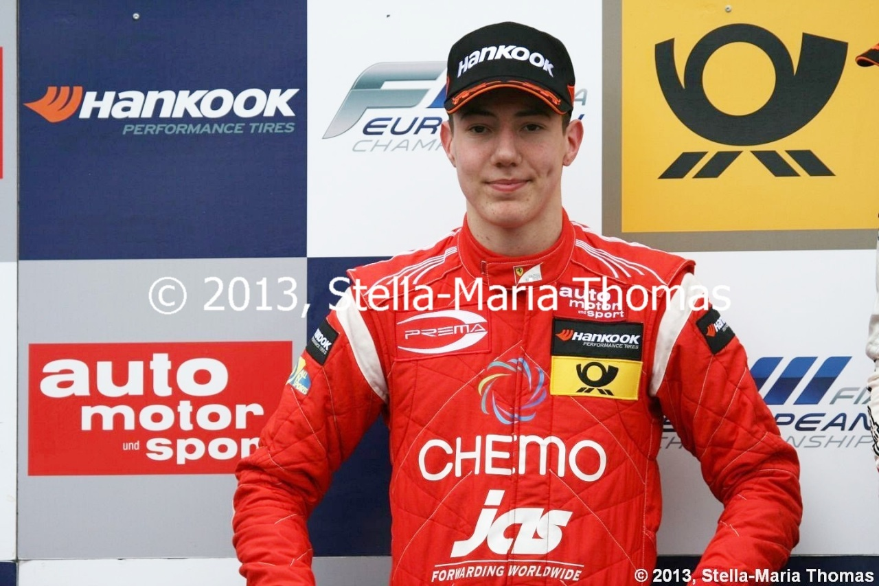 2013 FIA F3 European Championship – Points After Round 15