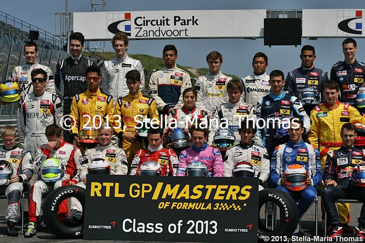 2013 RTL GP Masters of Formula Three – First Qualifying Report