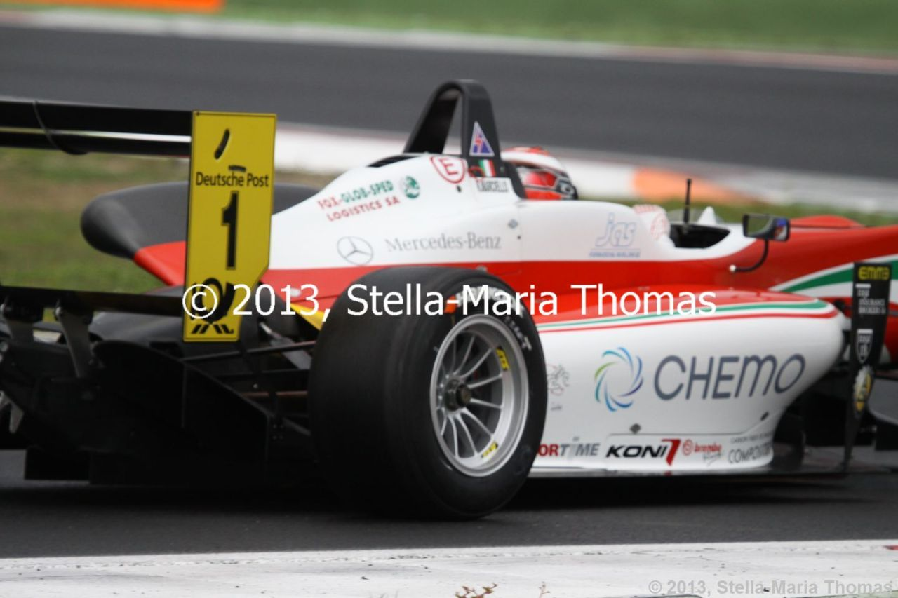 2013 FIA F3 European Championship Round 21 – Qualifying Results