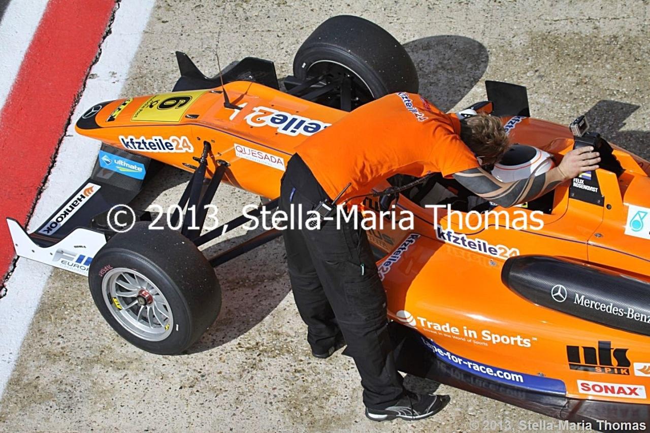 2013 FIA Formula 3 European Championship Round 29 –Grid