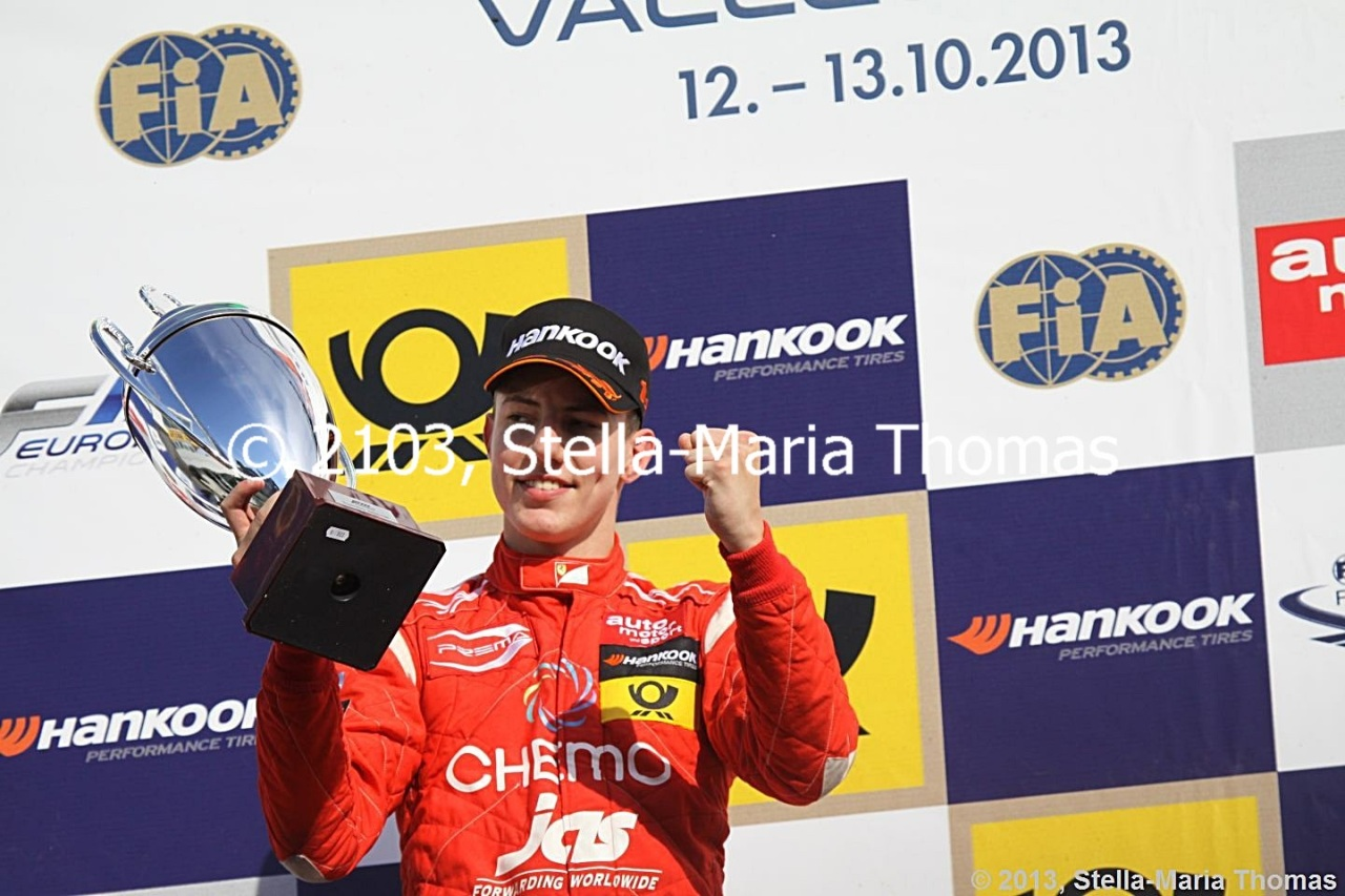 2013 FIA F3 European Championship, Round 29 – RaceReport