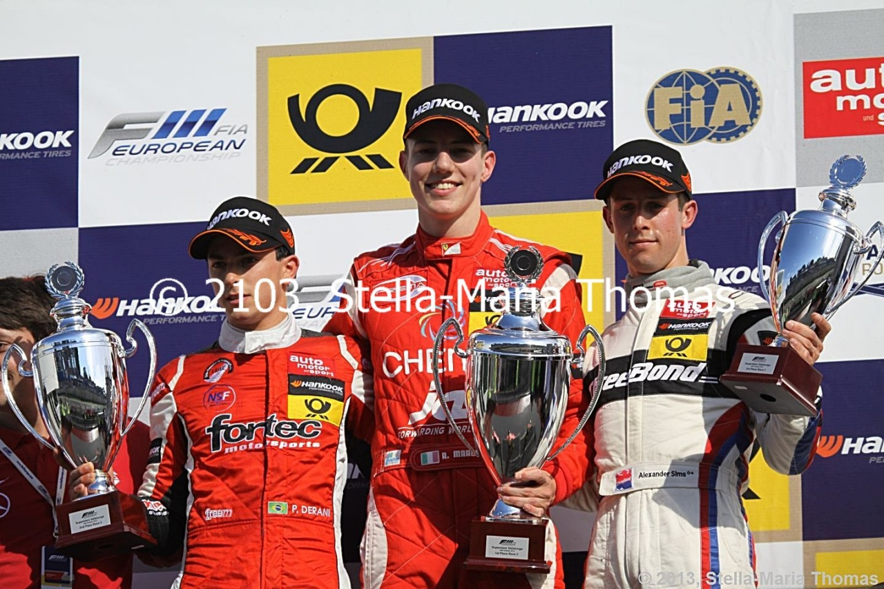 2013 FIA F3 European Championship Wrapped Up