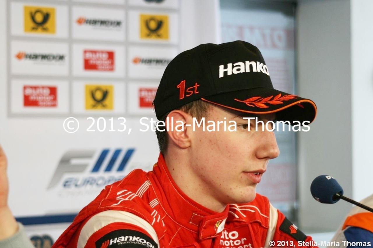 2013 FIA F3 European Championship, Round 30 –Grid