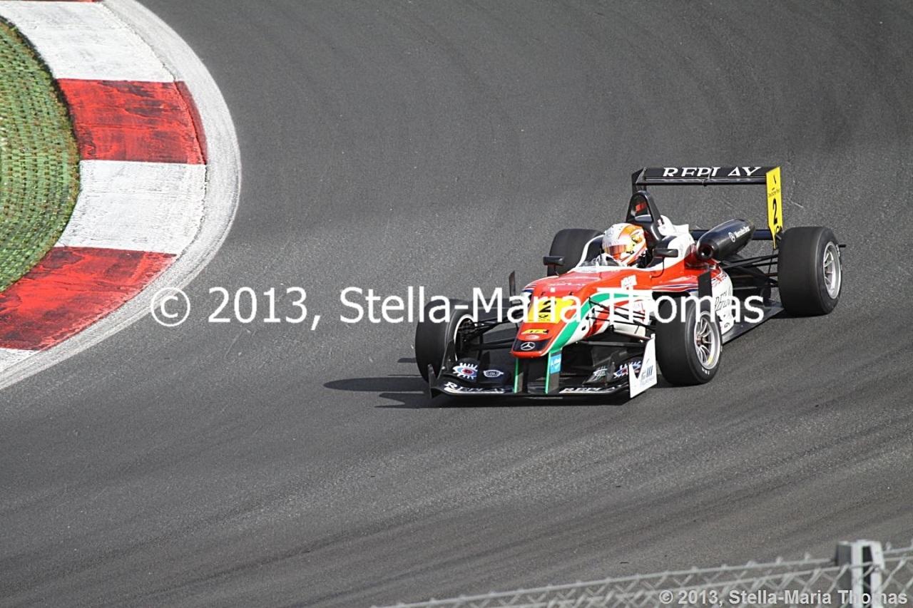 2013 FIA F3 European Championship, Round 26 –Grid