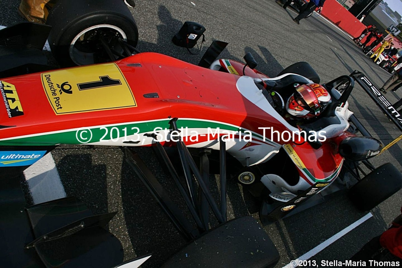2013 FIA F3 European Championship, Rounds 28, 29 and 30 – Qualifying Report