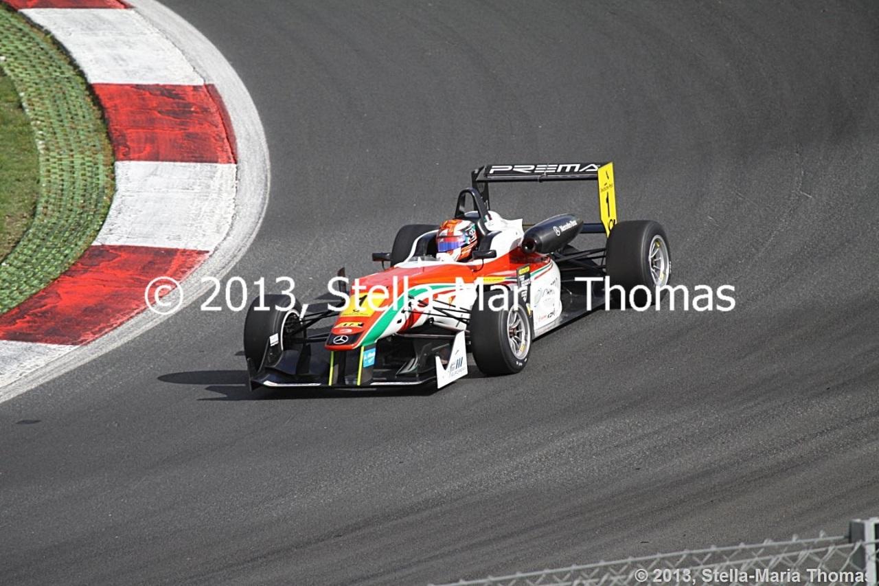 2013 FIA F3 European Championship, Round 27 –Grid