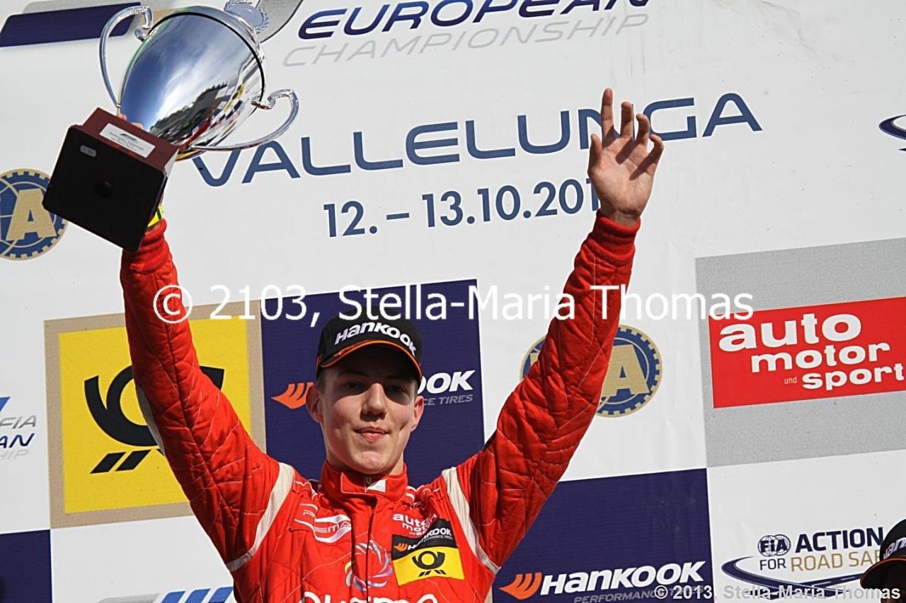 2013 FIA F3 European Championship, Round 25 – RaceReport