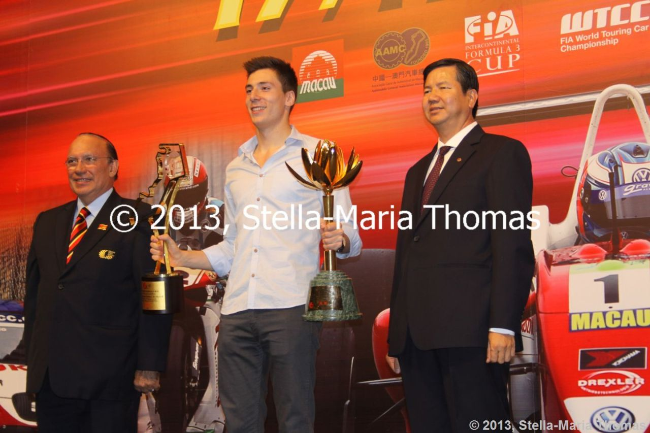 2013 Star River-Windsor Arch Formula 3 Macau Grand Prix – Race Results