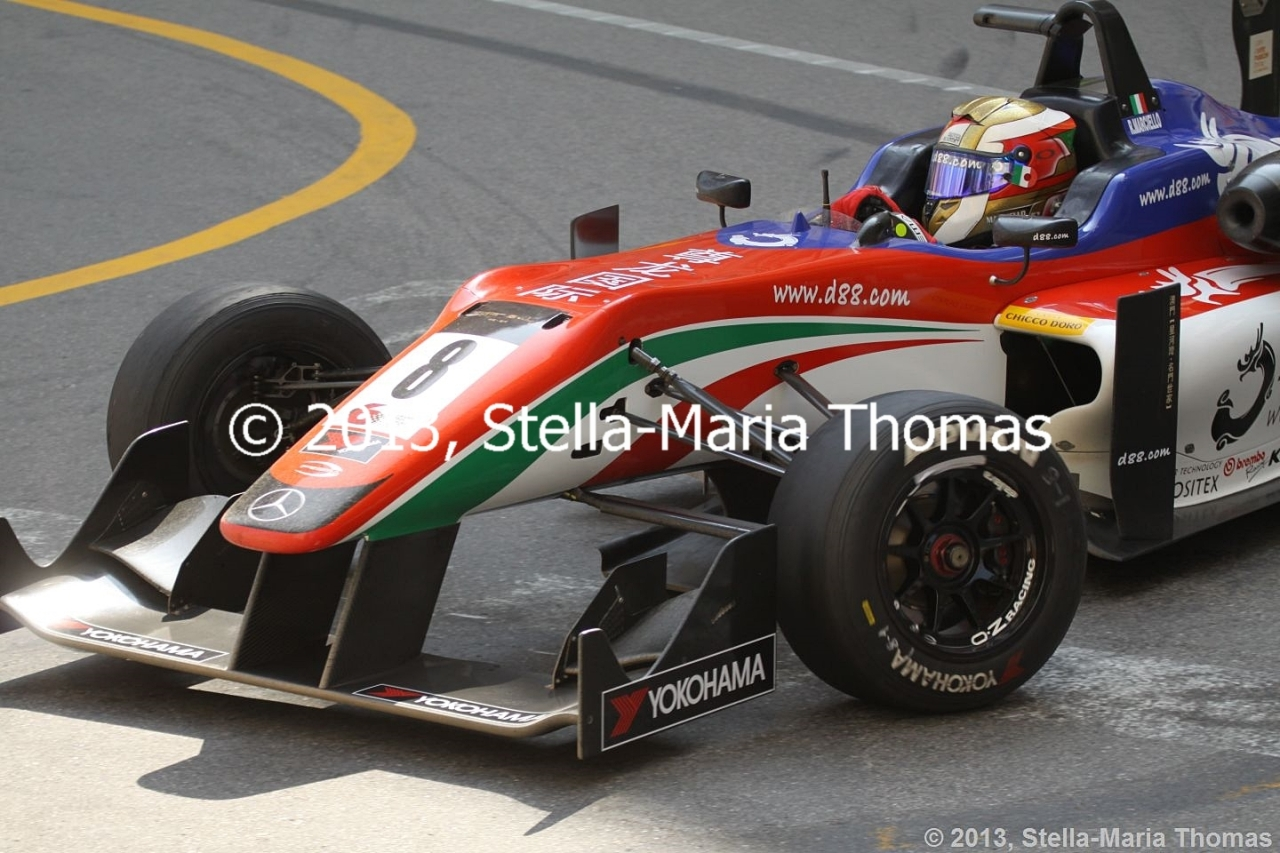 2013 Star River-Windsor Arch Formula 3 Macau Grand Prix – Qualifying 2 Report