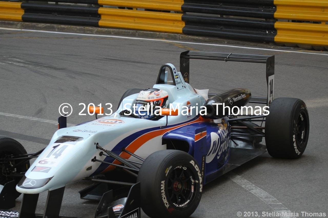 2013 Star River Windsor Arch Formula 3 Macau Grand Prix – Qualifying 1 Report