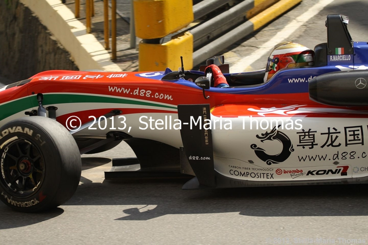 2013 Star River-Windsor Arch Formula 3 Macau Grand Prix – Qualifying Times (Combined)