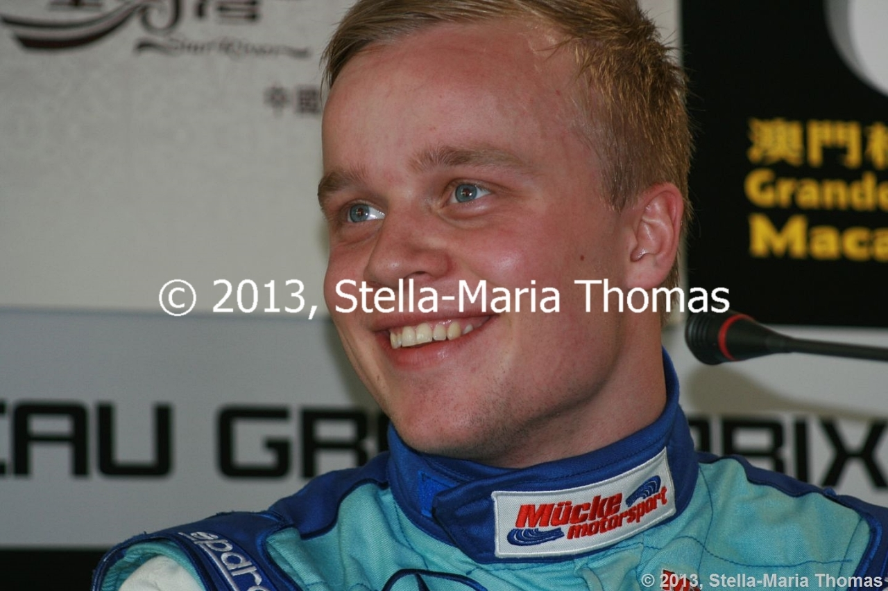 2013 Star River-Windsor Arch Formula 3 Macau Grand Prix – Qualifying 1 Results