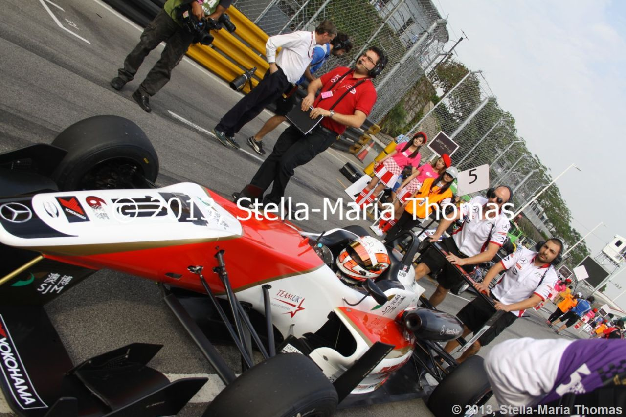 2013 Star River-Windsor Arch Formula 3 Macau Grand Prix – Grid