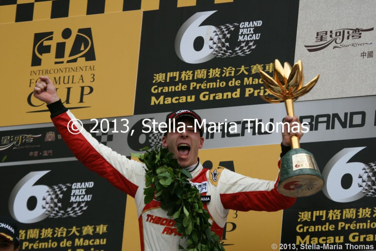 2013 Star River-Windsor Arch Formula 3 Macau Grand Prix – Race Report