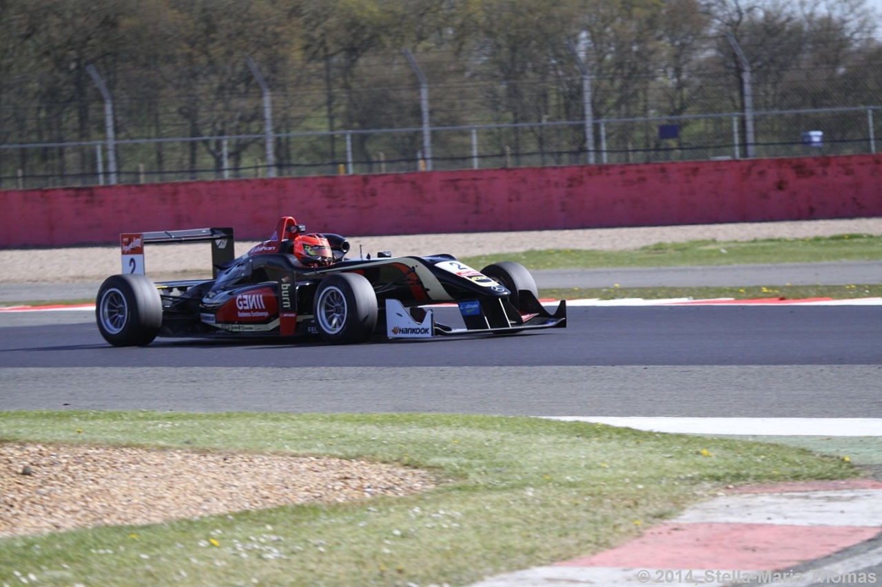 2014 FIA F3 European Championship, Round 3 – Qualifying Results