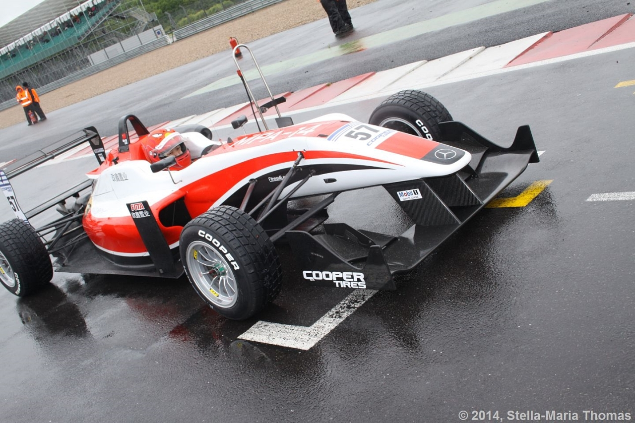 2014 Cooper Tires British Formula 3 Championship – Amended Grid Round 6