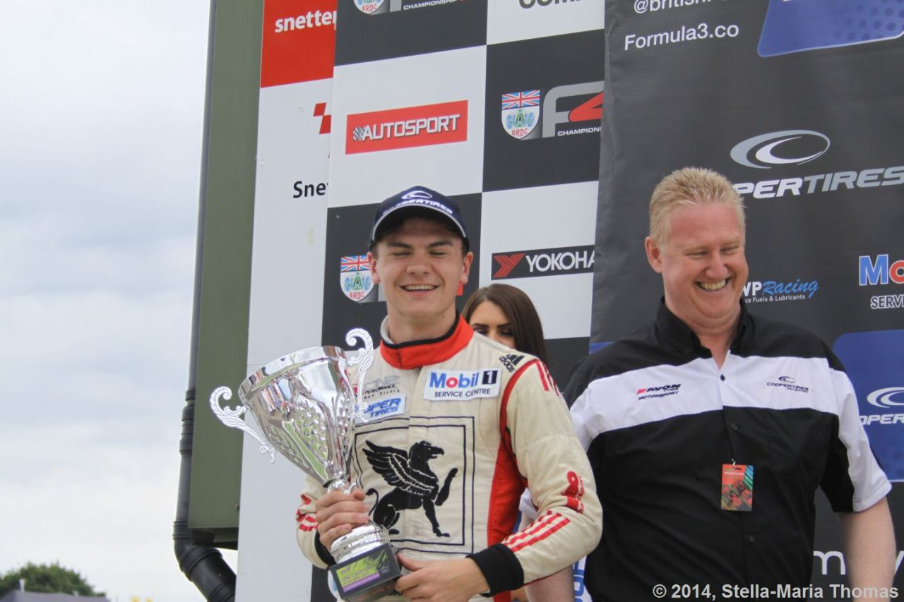 2014 Cooper Tires British F3 Championship, Round 9 – Race Report, Results and Points