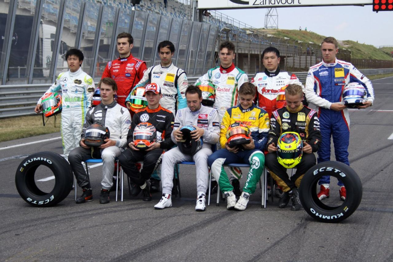 2014 Masters of Formula Three, Grid
