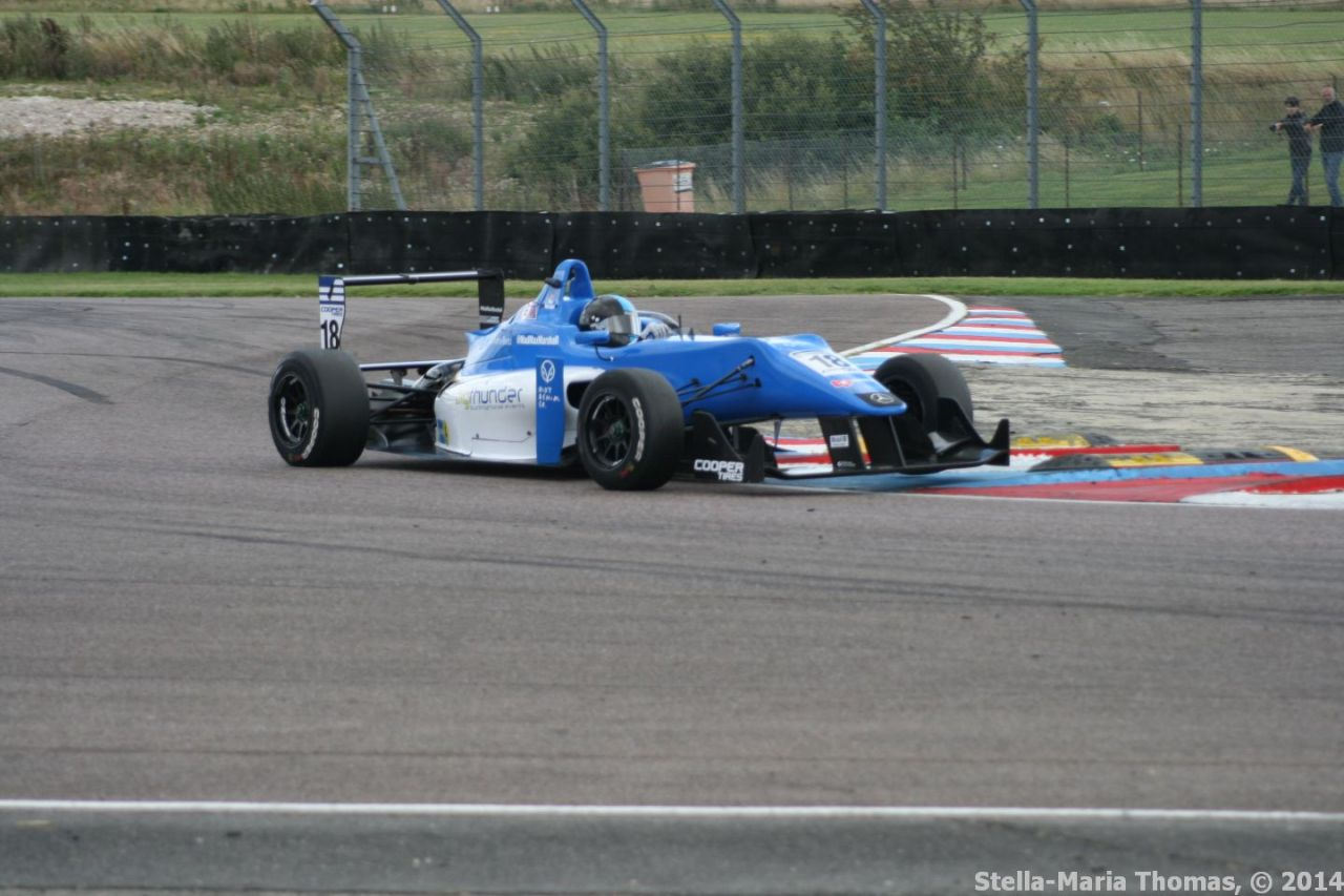 2014 Cooper Tires British F3 Championship, Round 14 – Race Report and Results